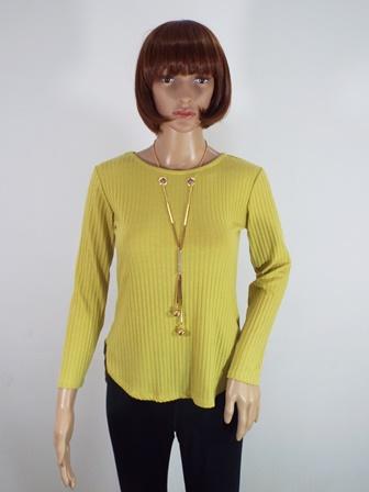 Bluza dama galbena Gina