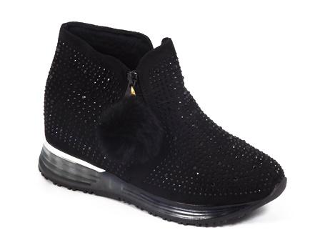 Pantofi dama negri Eryne