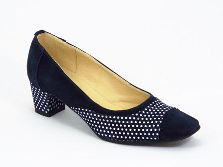 Pantofi dama piele bleu Coryna