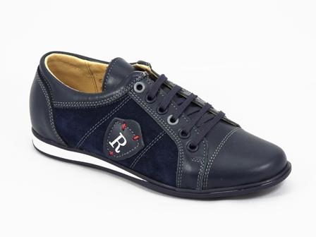 Pantofi dama piele albastri Lyna