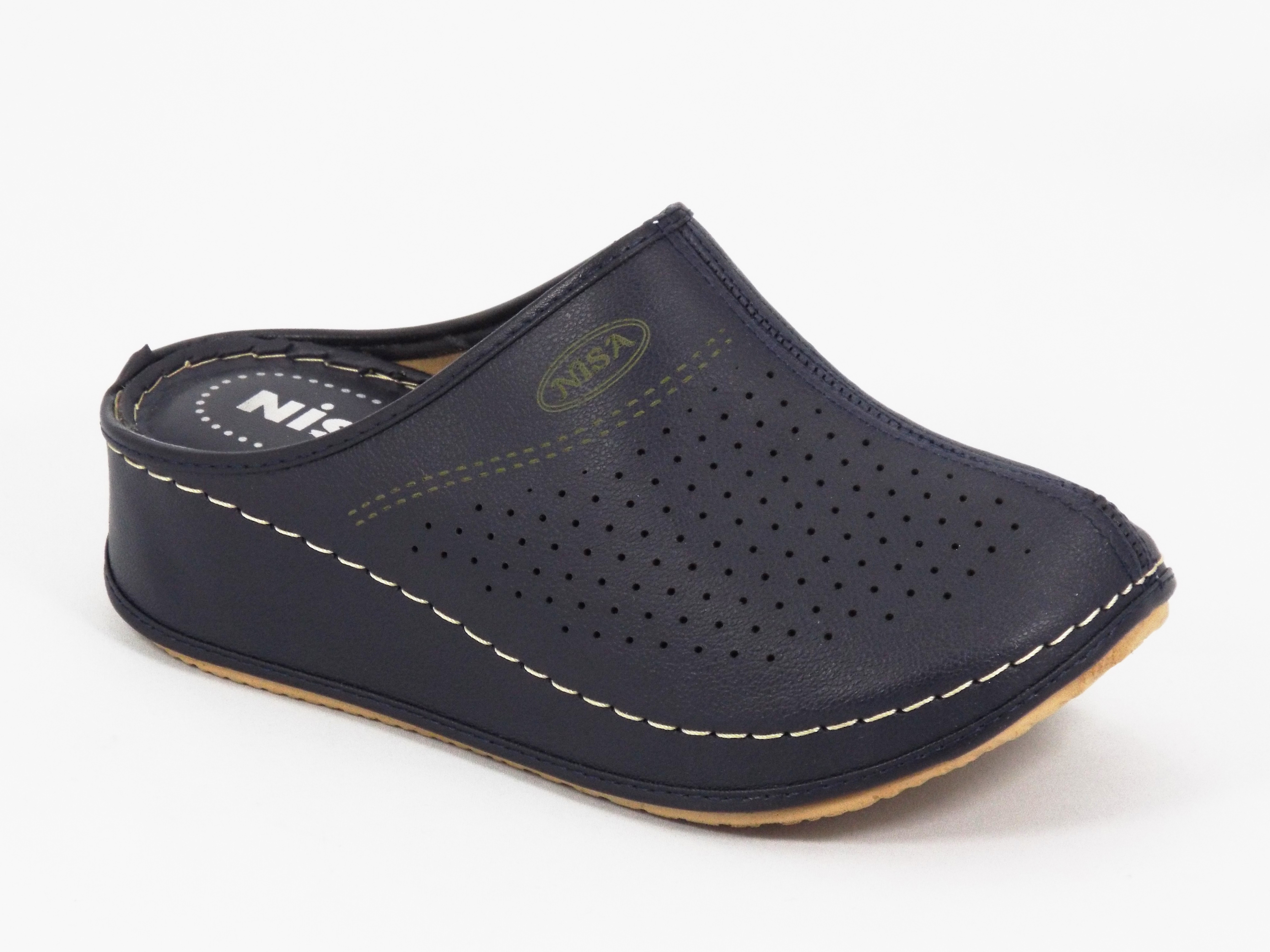 Papuci dama bleu Lilia