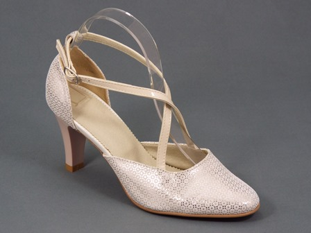 Pantofi dama piele bej Dynna2