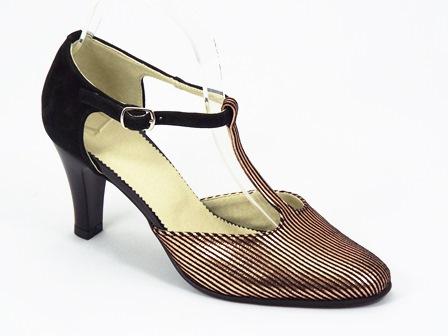 Sandale dama piele negre Sony