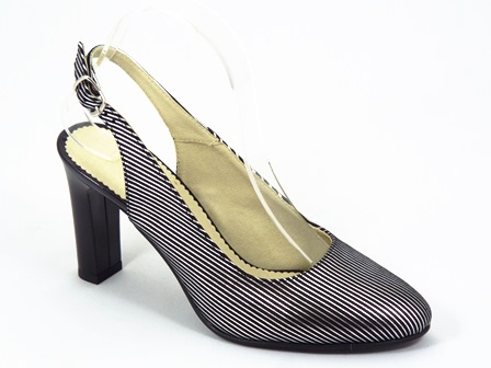 Sandale dama piele argintii Zynne