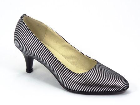 Pantofi dama piele argintii Zynne