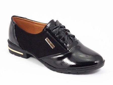 Pantofi dama negri lac Lorry