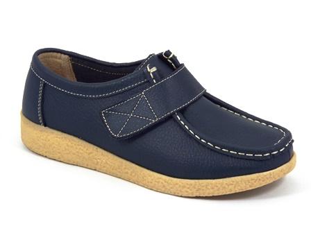 Pantofi dama piele bleumarin Zyta