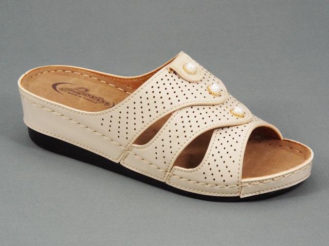 Papuci dama bej Lorry