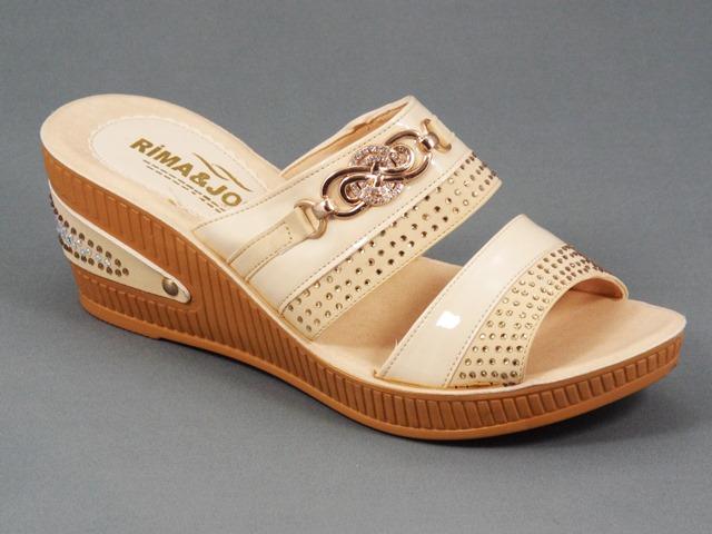 Papuci dama bej Ryma