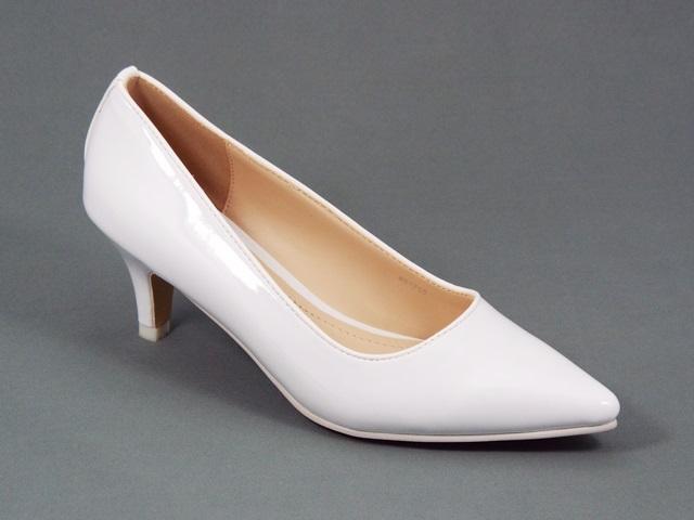 Pantofi dama albi Koryna