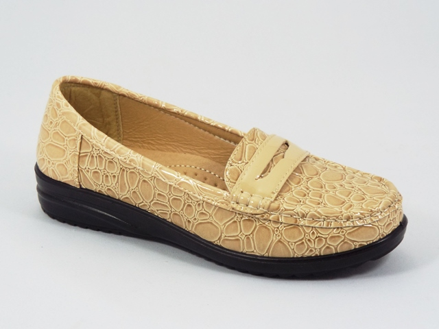 Pantofi dama bej lac Sueno