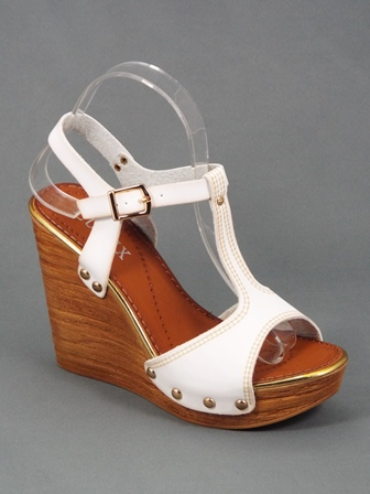 Sandale dama albe Zynna