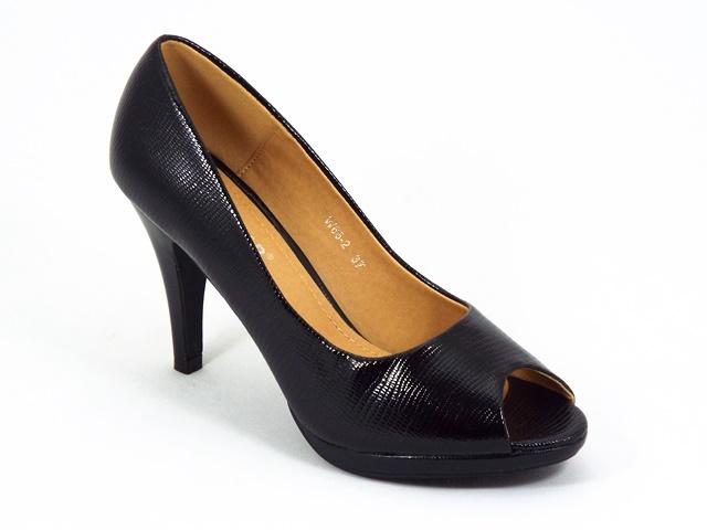 Pantofi dama negri Aryna