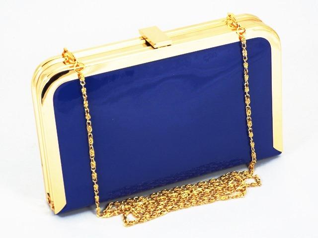Clutch dama albastru Vera
