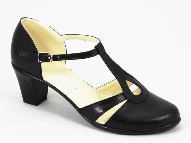 Sandale dama piele negre Alina