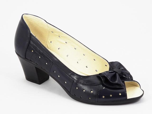 Sandale dama piele bleu Anita