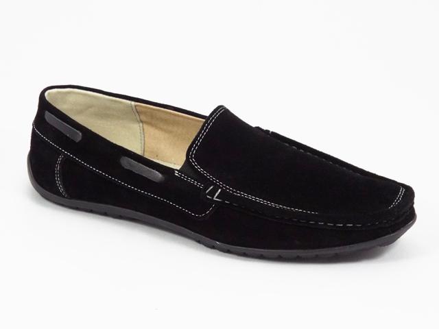 Pantofi barbati piele negri Anton