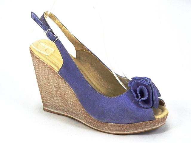 Sandale dama piele albastre Ana