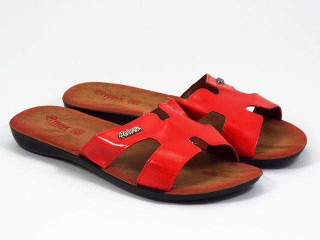 Papuci dama rosii Vorya