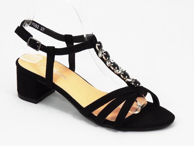 Sandale dama negre Anda