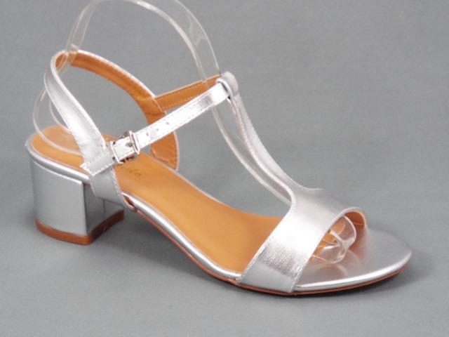 Sandale dama argintii Dana