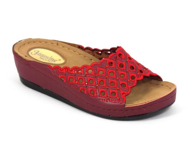 Papuci dama rosii Daniela