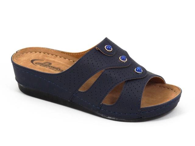 Papuci dama bleumarin Lorry