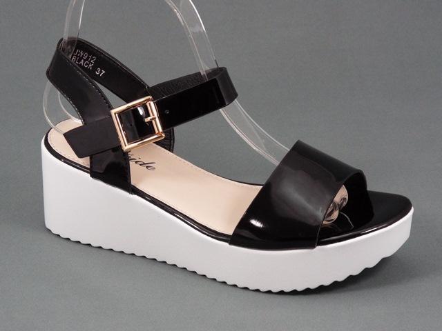 Sandale dama negre Loly