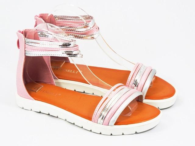 Sandale dama roz Vyka