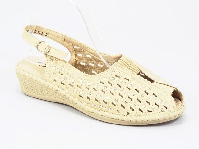 Sandale dama bej Anita