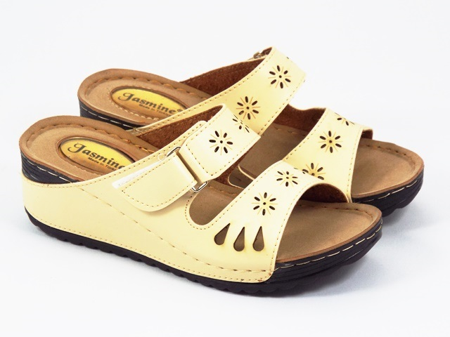 Papuci dama bej Florina