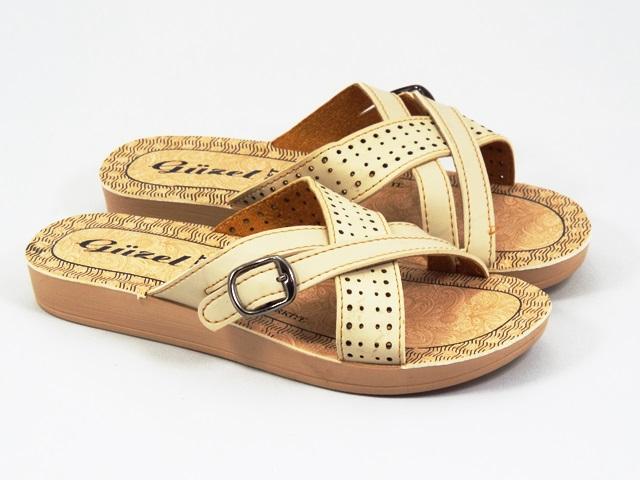 Papuci dama bej Sera
