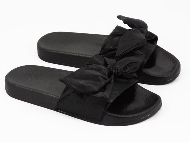 Papuci dama negri Greta
