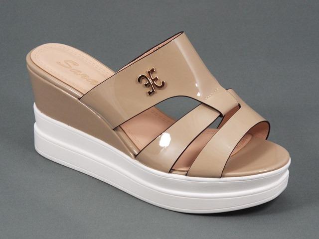 Papuci dama bej Galina