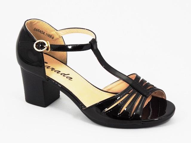 Sandale dama negre Lidia