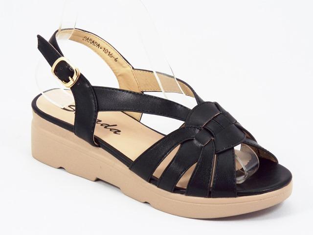 Sandale dama negre Sonik