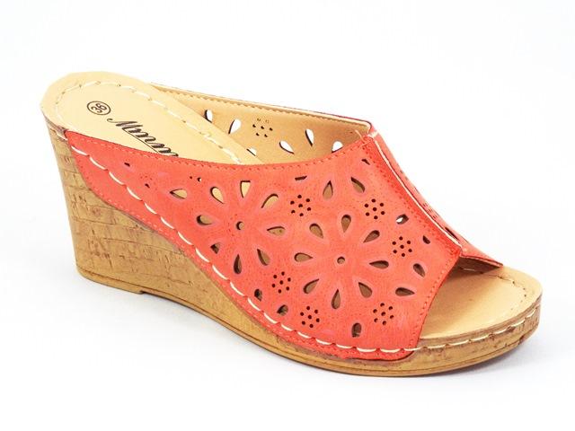Papuci dama rosii Florine