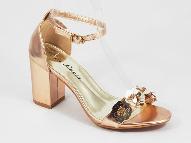 Sandale dama aurii Florina