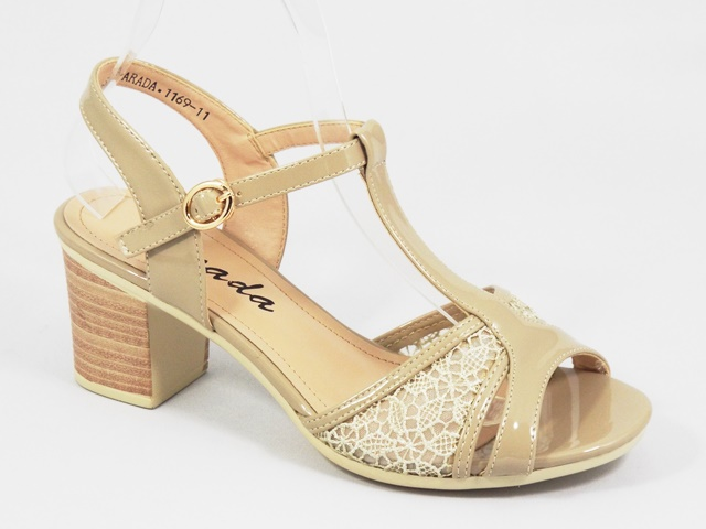 Sandale dama apricot Lona