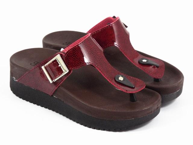 Papuci dama rosii Dalina