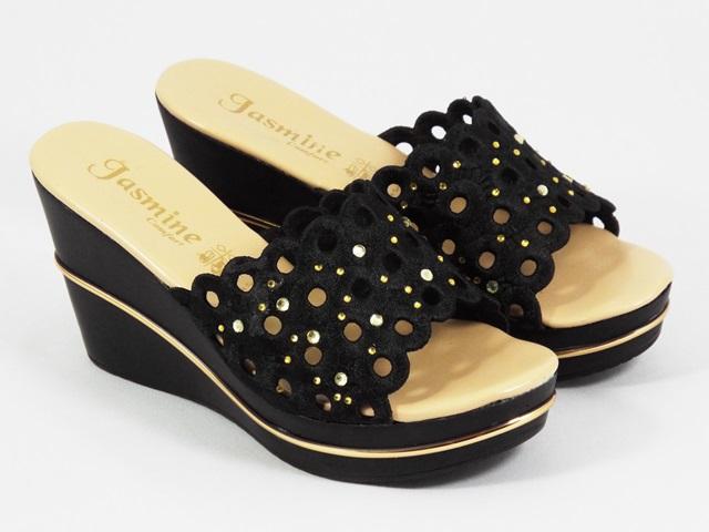 Papuci dama negri Anna