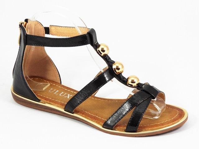 Sandale dama negre Teodora