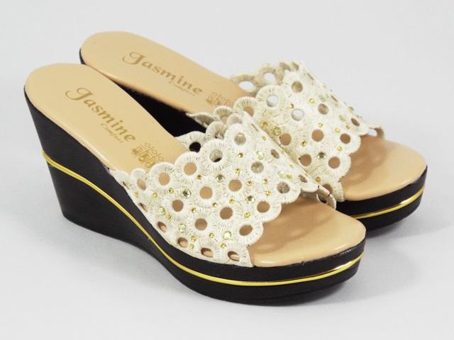 Papuci dama bej Anna