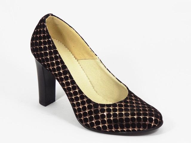 Pantofi dama piele negri Alyce1