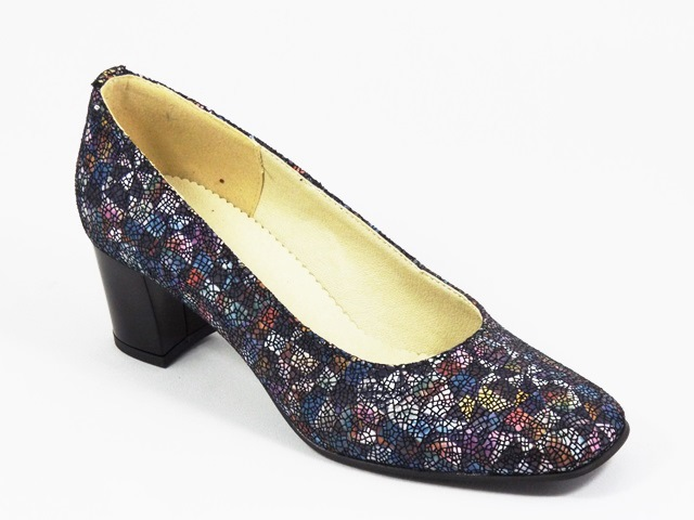 Pantofi dama piele albastri Monna