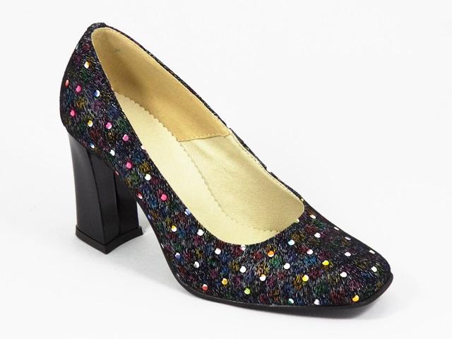 Pantofi dama piele negri Cory3