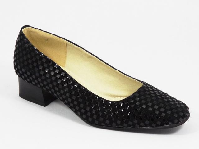 Pantofi dama piele negri Lorei