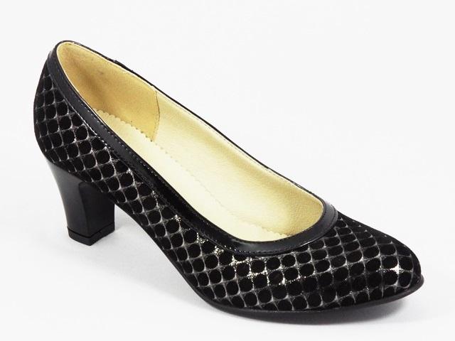 Pantofi dama piele negri Alyce3
