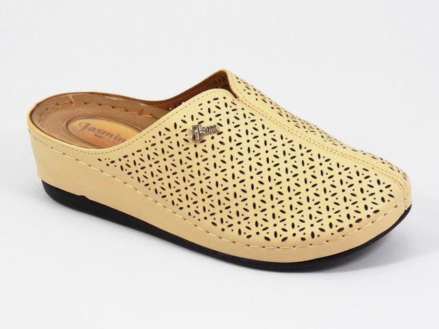 Papuci dama bej Giana
