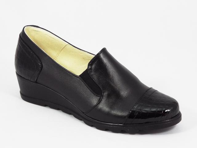 Pantofi dama piele negri Lena